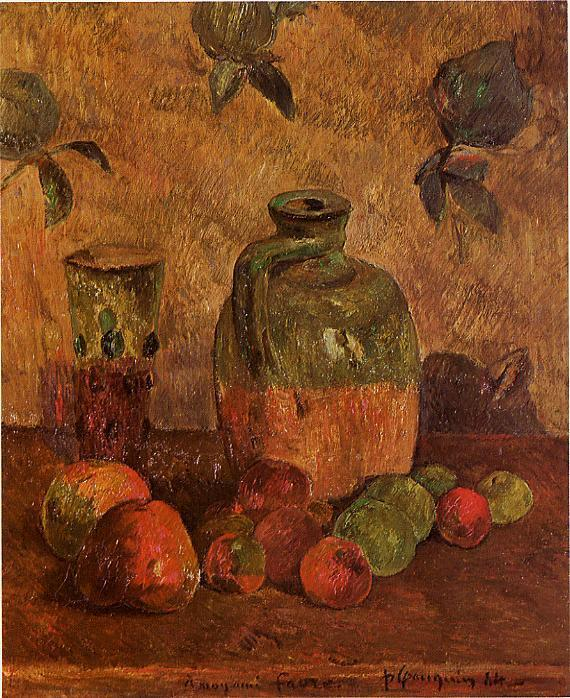 Still life) Paul Gauguin