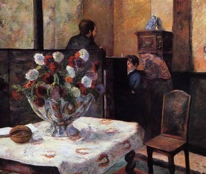 The artists home: Interior of the Painter's House, rue Carcel