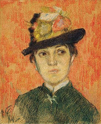 Portrait of Mademoiselle Manthey. Paul Gauguin