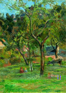 Gauguin Children in the Pastur