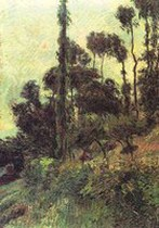 Hillside. Paul Gauguin 1884
