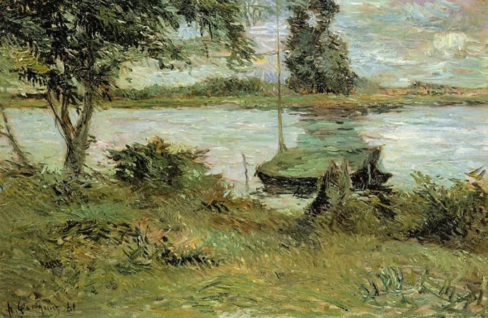 Banks of the Oise – Paul Gauguin