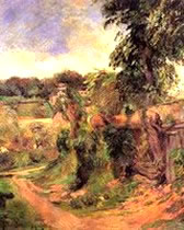 Near Rouen - Paul Gauguin