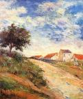 The road up. Paul Gauguin