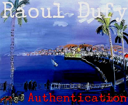 Raoul DUFY Art Authentication
