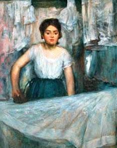 woman ironing degas analysis essay