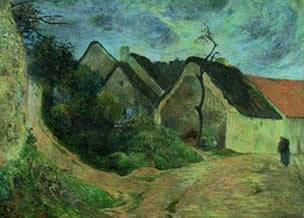 Landscape from Osny. Paul Gauguin
