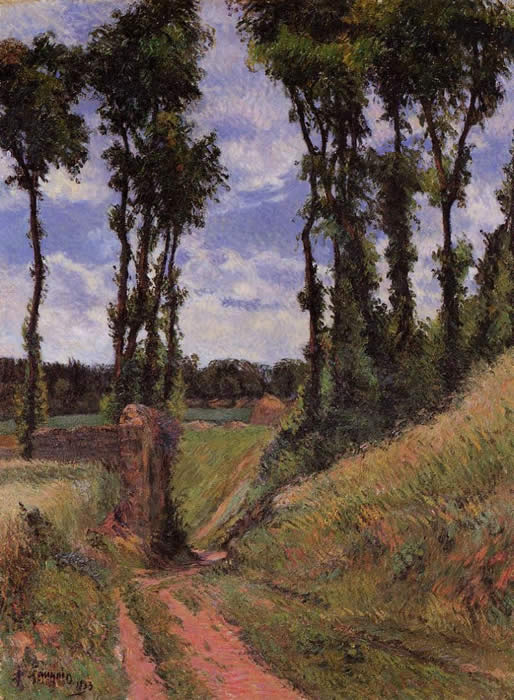 Poplars - Paul Gauguin