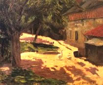 Poulailler - Paul Gauguin