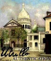 MAURICE UTRILLO AUTHENTICATION